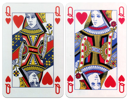 Judith As The Queen Of Hearts