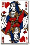 English playing card of Rouen design
