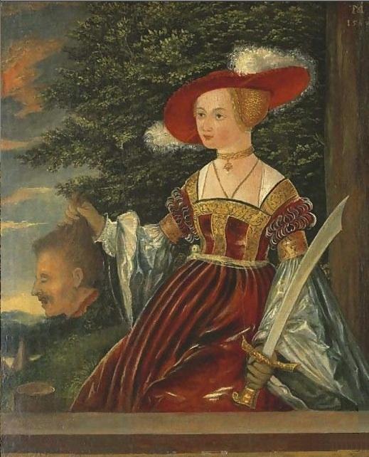 judith-1540-ostendorfer-michael.jpg (519×642) | Cranach Gown - PPFN ...