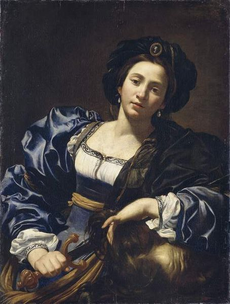 "Simon Vouet, ""Judith with the Head of Holofernes,"" 1615-27, oil on canvas, 96.8 x 73.3 cm, Old Pinakothek of Munich, Munich, Germany"