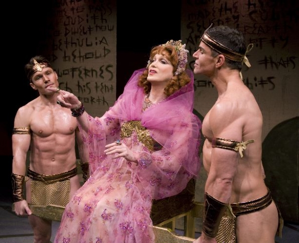 Dave August, Charles Busch, Larry Bullock