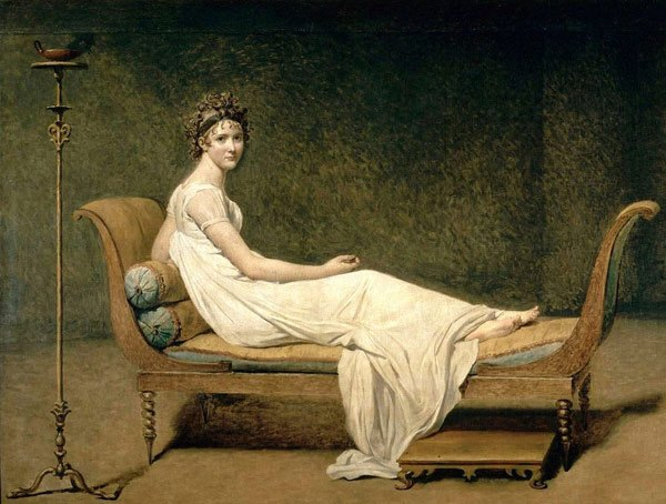 Mme Recamier (1800) Louis David