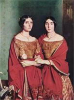 The Two Sisters (1843) Theodore Chasseriau