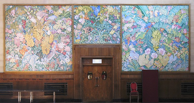 Panels_at_the_rear_of_Brangwyn_Hall_-_geograph.org.uk_-_1491172