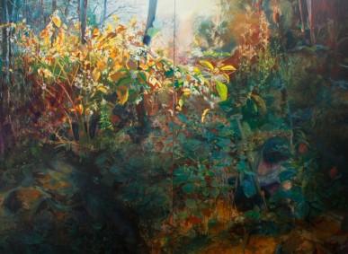 """Anna Wypych, """"Deborah,"""" 2011, Oil on canvas, 300 x 220 cm, www.annawypych.pl"""