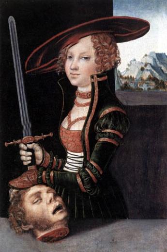 Judith (1530) Cranach?