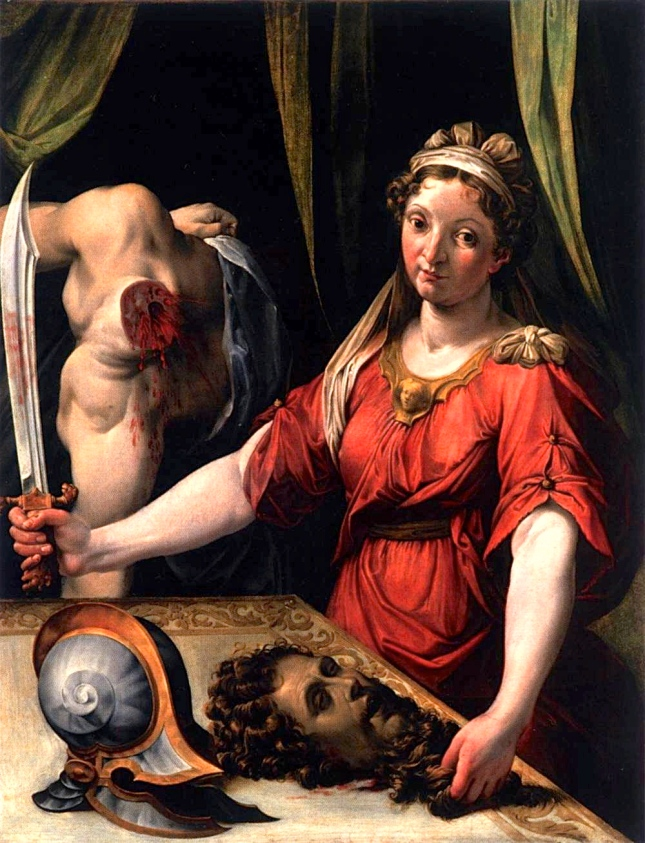 Judith (1562) Lorenzo Sabatini