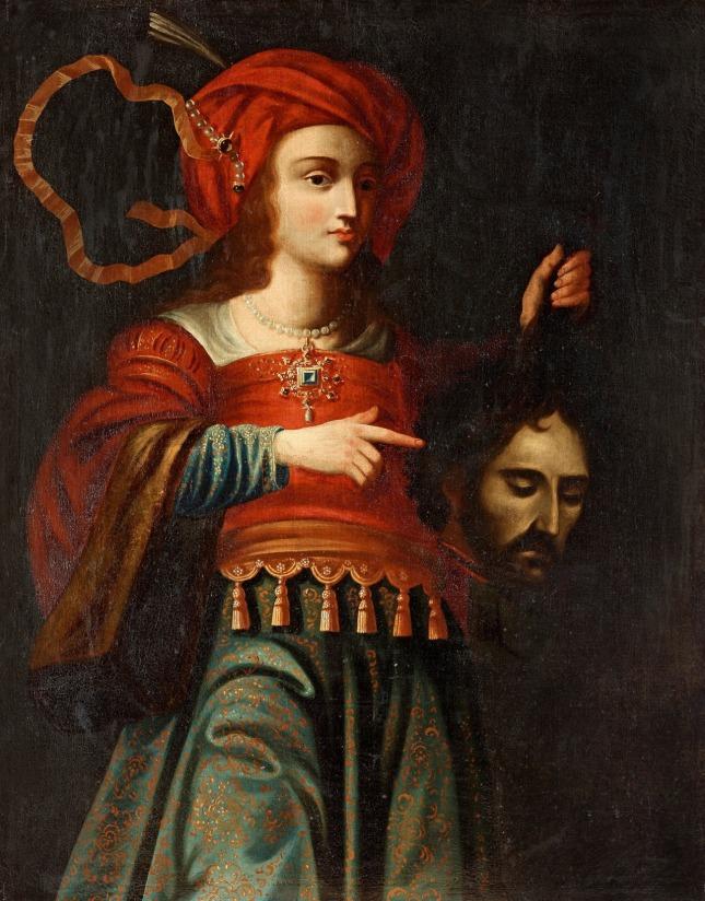 Judith (early 1500s) Follower of Massimo Stanzione