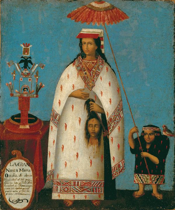 Judith (1800) Inca Princess