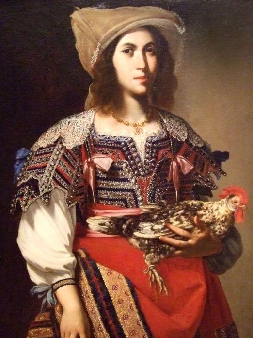 Stanzione,_Massimo_-_Woman_in_Neapolitan_Costume_-_1635
