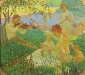 Allergory Years (1908) Jakub Frantisek