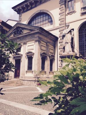 Biblioteca Ambrosian, Milan, Italy