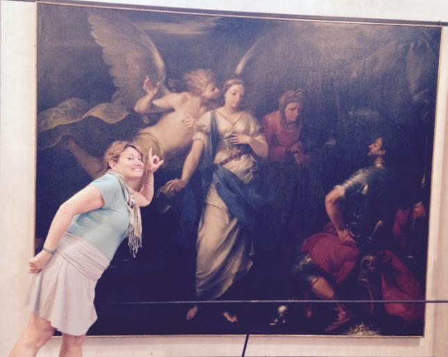 dal SoleGiovanni Giuseppe/Gioseffo (1654-1719) Judith inspired by the angel 1697 Oil on canvas 210 x 290 cm Museo di Castelvecchio Verona IT